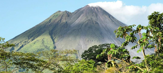 Volcán Arenal, La Fortuna </br> Costa Rica